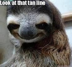 Meme Maker - Look at that tan line Meme Maker! via Relatably.com