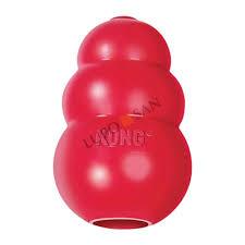 Прочная резиновая <b>игрушка</b> для собак <b>KONG Classic</b>