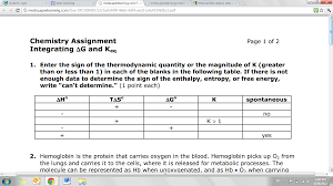 i need help this thermodynamics question yeah chemistry i need help this thermodynamics question