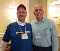 crossword friends of george barany mark diehl on right of photo taken 2016 in stamford connecticut is a recently retired dentist after almost 38 years the veterans affairs