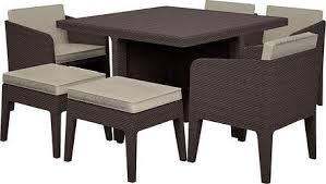 <b>Комплект мебели Keter Columbia</b> dining set (7 предметов), цена ...