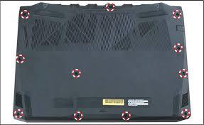Инструкция по установке жесткого диска в <b>Acer Nitro</b> AN515-54