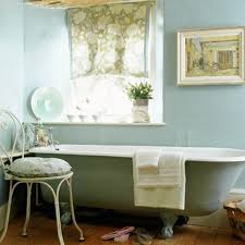 country bathroom colors: simple french cottage bathroom  simple french cottage bathroom
