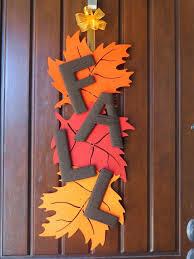 diy fall leaf door decoration aaron office door decorated