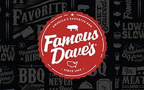 Amazon.com: Famous Dave's BBQ Gift Cards - Email Delivery: Gift ...