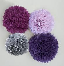 decor purple gray decorating