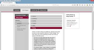 common app essay questions  completing the common app recommenders counselor info and signature college counseling screenshot of the common application