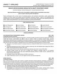 growth objective resume