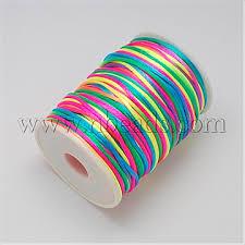 <b>2mm Colorful</b> Nylon Thread & Cord(NWIR-R001-11) - Polyester ...