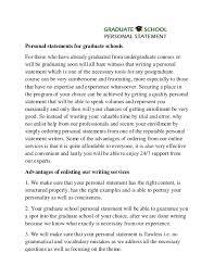 examples of graduate school admission essays