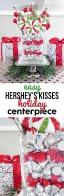 easy home decor idea: diy hersheys kisses centerpiece for christmas an easy home decor idea for a holiday party