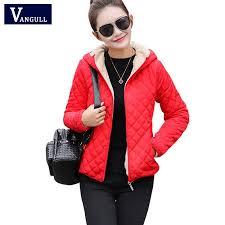 <b>Women</b> Winter Jacket <b>Hooded</b> Fleece Coat Autumn Spring ...