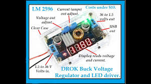 Buck Volt regulator is Handy Gadget for under $10, Step Down LED ...