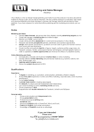 application letter for a media job