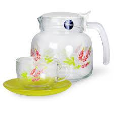 <b>Набор чайный Carine Blanc</b> 12 предметов, стекло | www.gt-a.ru