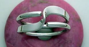 Two+Turn+Wave+Energy+Ring+in+<b>Sterling</b>+<b>Silver</b>+by+isidro+on+ ...