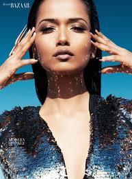 futuristic beauty4 Garima Parnami Shines for Enrique Vega in Harpers Bazaar Arabia - futuristic-beauty4