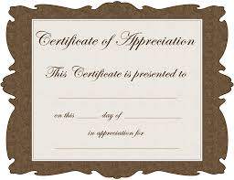 blank certificate template clipart best word certificate of appreciation template pdf blank printable gift