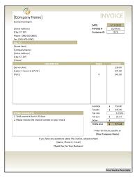 invoice template invoice template word excel pdf blank invoice template 03