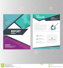 green presentation template annual report brochure flyer elements blue purple green annual report presentation template elements icon flat design set for advertising marketing brochure