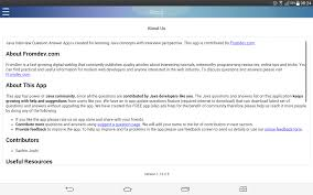 java questions and answers android apps on google play java questions and answers screenshot