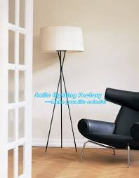 free shipping wholesale floor lamp floor lighting fixture modern 1 light three legs white cheap floor lighting