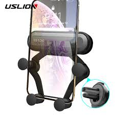 USLION <b>Universal Gravity Car Phone</b> Holder Air Vent Mount Stand ...