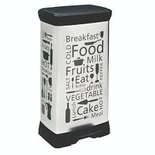 <b>Контейнер для мусора Curver</b> Kitchen DECO BIN с педалью 50 л ...