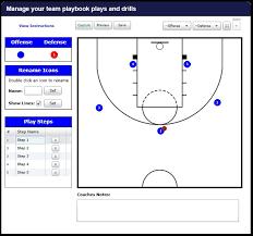 create sports playbooks   team on threebasketball playbook maker picture of basketball playbook maker
