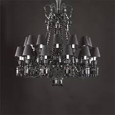 baccaratzenith24arm baccarat crystal black zenith 24 arm baccarat zenith arm black crystal chandelier