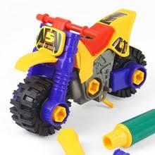 Дети <b>DIY</b> разборка <b>Сборная модель</b> игрушки мотоцикл гайки ...