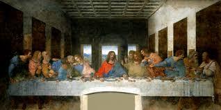 <b>Тайная вечеря</b> Фреска Леонардо да Винчи