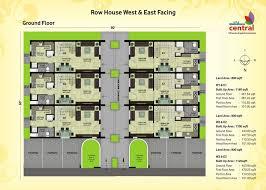 Insight Knowledge about Floor Plan House   EZ Home Maintanance    row house floor plans