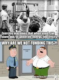 http://physicalculturist.ca/ Exercise Machine! Gym meme ... via Relatably.com