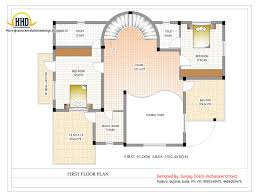 Duplex House Plan and Elevation   Sq  Ft    home applianceDuplex First Floor Plan Online   Sq M   Sq  Ft