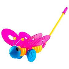 Характеристики модели <b>Каталка</b>-<b>игрушка Пластмастер Бабочка</b> ...