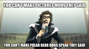 Image result for legend of korra varrick quotes
