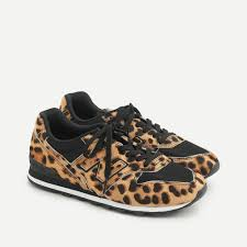 New Balance® X J.Crew 996 Sneakers In Leopard Calf Hair ... - J.Crew
