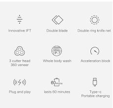 <b>SOOCAS</b> S3 <b>Electric</b> Razor <b>Shaver</b> 3D Trimmer For Xiaomi Mijia ...