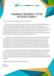 pharmacy application samples pharmacy residency letter of intent sample pharmacypersonalstatement net