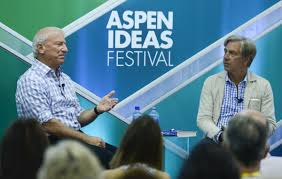 universal basic income can it renew our economy aspen ideas blog author andy stern speaks elliot gerson an executive vice president at the aspen institute at the aspen ideas festival