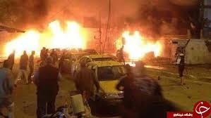 Image result for 170 شهید و 100 مجروح در در بغداد