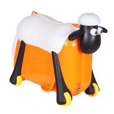 <b>Чемодан</b>-<b>каталка Saipo</b> Овечка купить в интернет-магазине ...