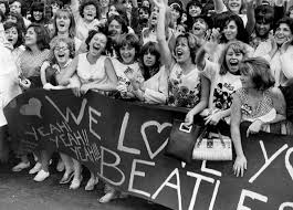 """「On February 7, 1964, Pan Am Yankee Clipper flight 101 from London Heathrow lands at New York's Kennedy Airport–and """"Beatlemania"""" arrives. I」の画像検索結果"""