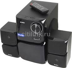 Купить <b>Колонки SVEN MS</b>-<b>305</b>, 2.1, черный в интернет-магазине ...