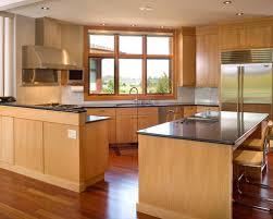 beech wood kitchen cabinets: saveemail cceeea  w h b p contemporary kitchen