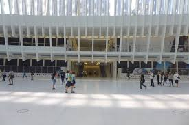 tribeca citizen what s new at the world trade center inside the world trade center transportation hub oculus looking north at the new entrance