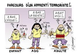 """Résultat de recherche d'images pour """"caricatures du terrorisme et ses origines"""""""