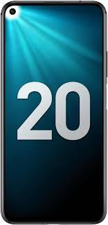Мобильный <b>телефон Honor 20</b> 128GB (черный)