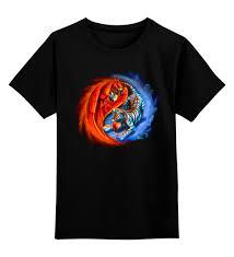 Детская футболка классическая унисекс <b>Yin Yang</b> #678063 за ...